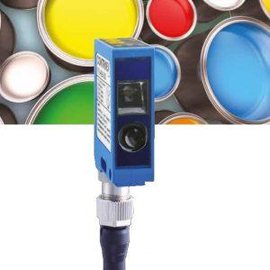 Kleur -en contrast sensoren